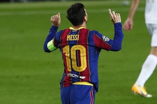 Barcelona thắng đậm, Messi lập kỳ tích ở Champions League - 1