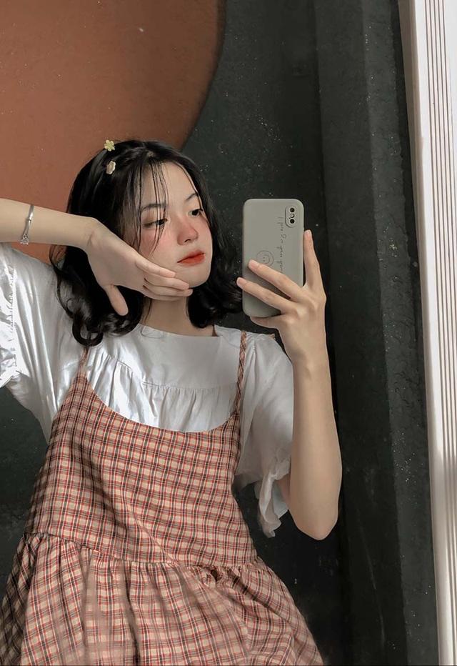 Nữ thần đồng phục mới nổi ở Bắc Giang - 8