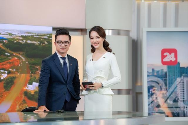 Á hậu Thụy Vân lên sóng đập tan tin đồn nghỉ việc ở VTV - 6