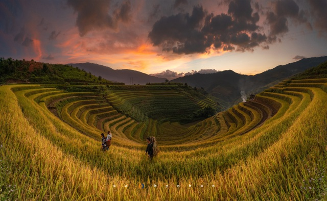 Marvel at the beautiful movie galaxy in Mu Cang Chai - 2