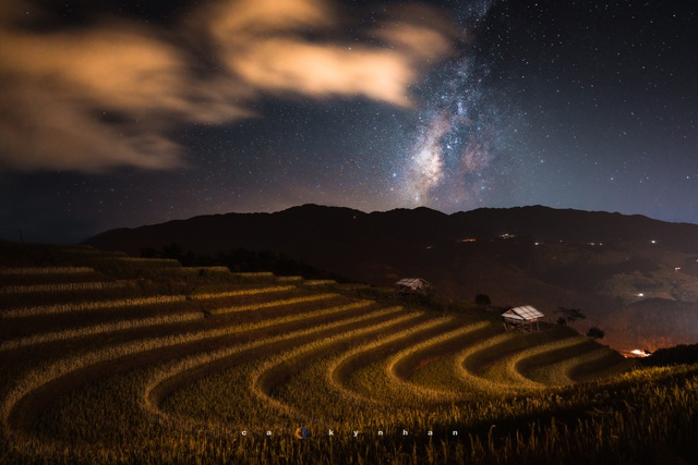 Marvel at the movie-like beautiful galaxy in Mu Cang Chai - 4