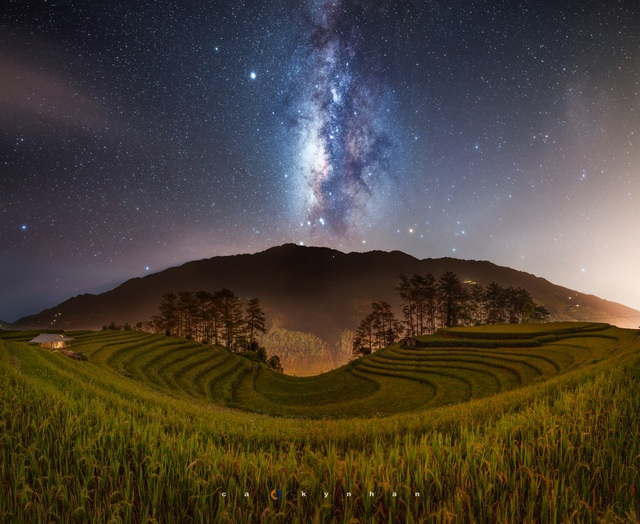 Marvel at the movie-like beautiful galaxy in Mu Cang Chai - 5
