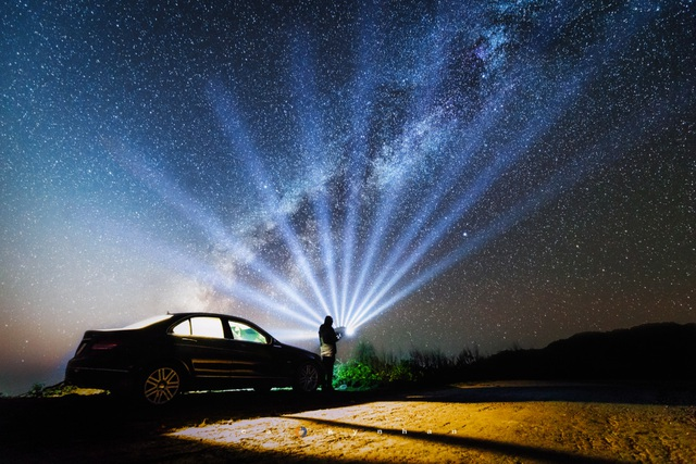 Marvel at the movie-like beautiful galaxy in Mu Cang Chai - 7