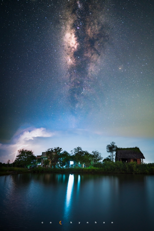 Marvel at the movie-like beautiful galaxy in Mu Cang Chai - 8