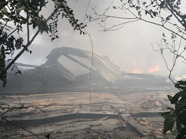 Điều tra nguyên nhân vụ cháy lớn ở công ty xử lý môi trường - 1