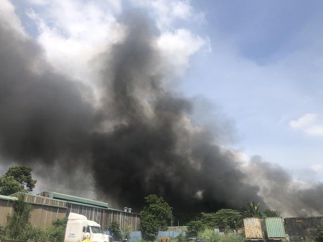Điều tra nguyên nhân vụ cháy lớn ở công ty xử lý môi trường - 2