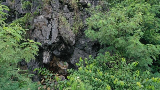 Núi đá vôi với hàng nghìn m3 đá nguy cơ sạt lở xuống nhà dân - 5