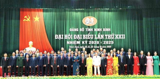 Bà Nguyễn Thị Thu Hà tái đắc cử Bí thư Tỉnh ủy Ninh Bình - 1