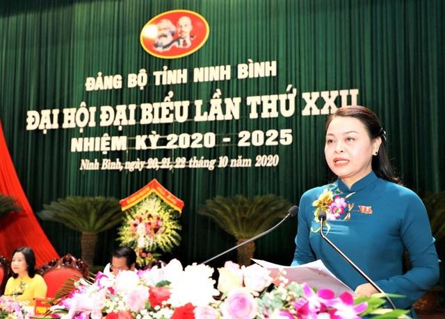 Bà Nguyễn Thị Thu Hà tái đắc cử Bí thư Tỉnh ủy Ninh Bình - 2