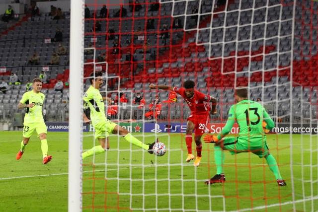 "Bayern Munich thắng ""4 sao"" trước Atletico Madrid - 1"