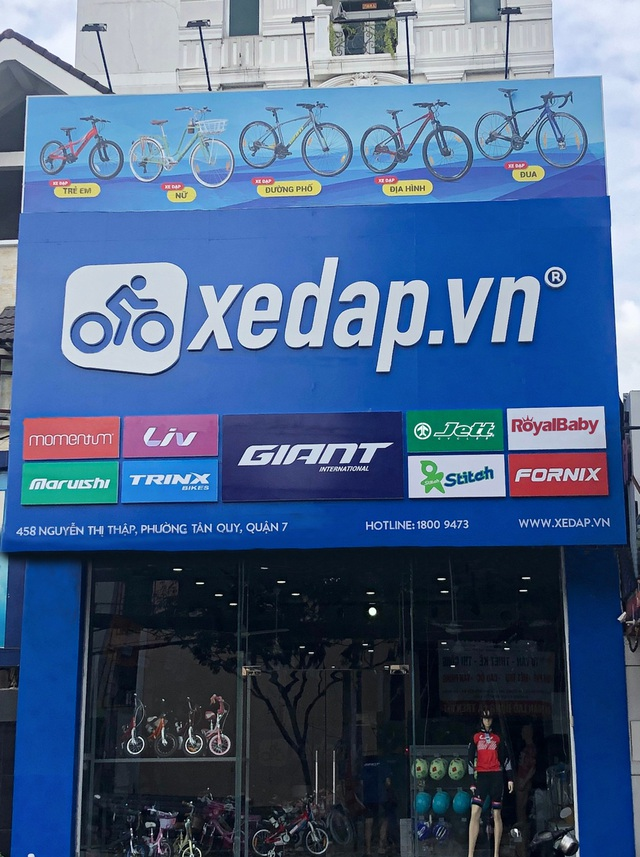 Gia nhập ngành bán lẻ, Xedap.vn đầu tư vào hệ thống vận hành và thương hiệu - 3
