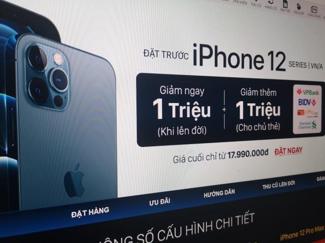 Đại lý giảm giá, tung nhiều ưu đãi trước khi mở bán iPhone 12 tại Việt Nam - 1