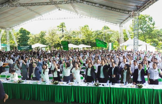 Lễ ra quân rợp hào khí quyết tâm của dự án Khu đô thị Xanh Villas - 2