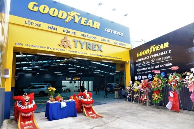 Goodyear chào đón thành viên mới gia nhập chuỗi Goodyear Autocare – Tyrex - 1
