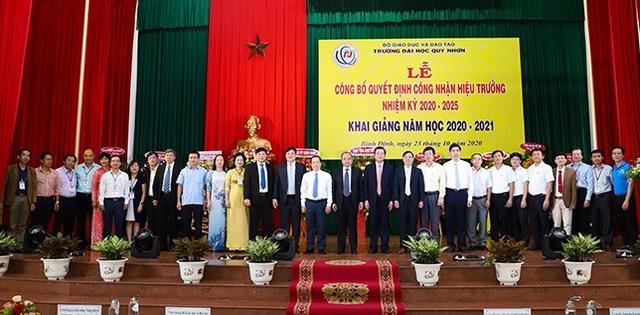 PGS.TS Đỗ Ngọc Mỹ tái đảm nhiệm chức vụ hiệu trưởng Trường ĐH Quy Nhơn - 2
