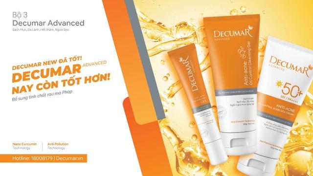 Decumar Advanced phiên bản chăm sóc da mụn hoàn hảo mới: Nhanh hơn, đột phá hơn - 1
