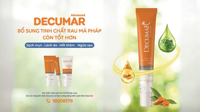 Decumar Advanced phiên bản chăm sóc da mụn hoàn hảo mới: Nhanh hơn, đột phá hơn - 2