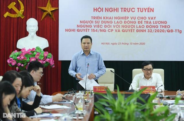"""Thứ trưởng Lê Văn Thanh: """"Nới"""" điều kiện để doanh nghiệp vay vốn trả lương - 1"""