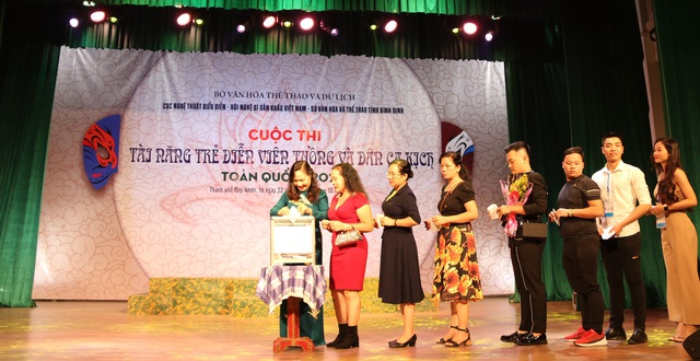 Khai mạc cuộc thi Tài năng trẻ Diễn viên Tuồng và Dân ca kịch toàn quốc - 5