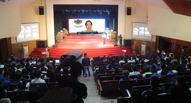 Đại học Mở Hà Nội khai giảng trực tuyến ở điểm cầu quốc tế và trong nước - 1