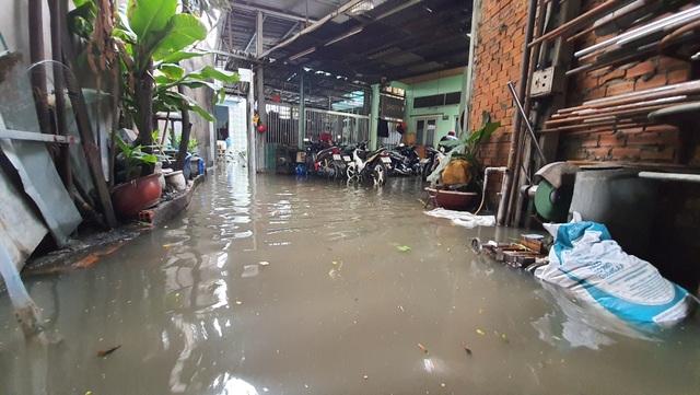 Khốn khổ với con đường biến thành sông sau một đêm mưa ở Sài Gòn - 6