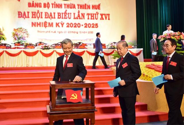Ông Lê Trường Lưu tái đắc cử Bí thư Thừa Thiên Huế - 1