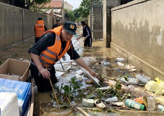 """Trận """"đại hồng thủy"""" tại Hà Tĩnh: Trận lũ lụt lịch sử rất khác thường! - 5"""