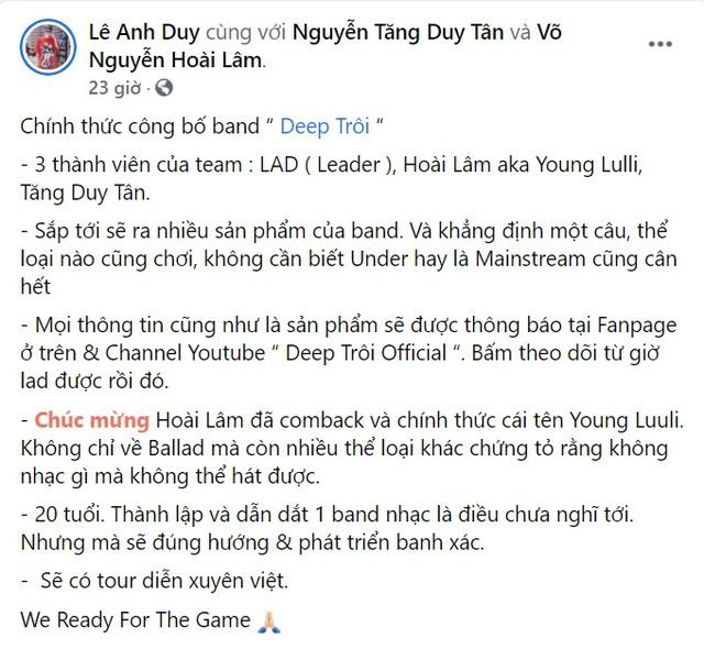 Hoài Lâm đổi nghệ danh được Hoài Linh đặt thành Young Luuli gây tranh cãi - 4