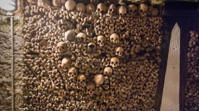 Mê cung hầm mộ rợn người dưới lòng thành phố Paris - 1