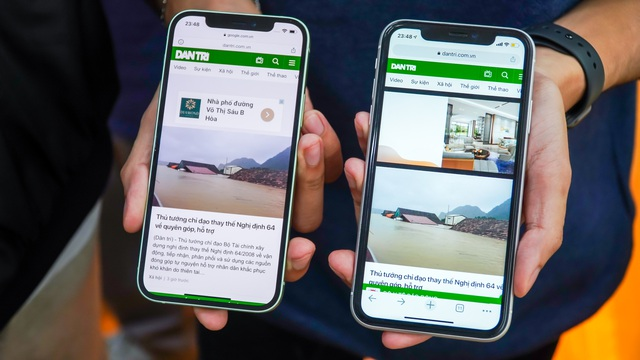 So sánh iPhone 12 và iPhone 11: Có đáng để nâng cấp? | Báo Dân trí