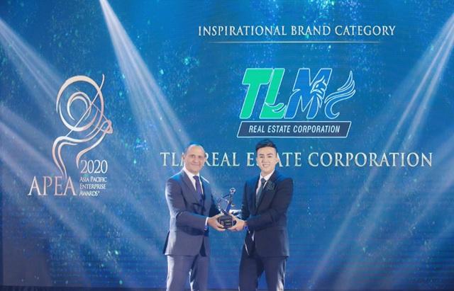 """TLM Corp nhận giải """"Thương hiệu truyền cảm hứng Châu Á 2020"""" - 1"""