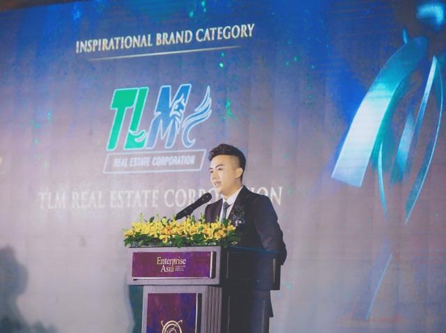 """TLM Corp nhận giải """"Thương hiệu truyền cảm hứng Châu Á 2020"""" - 2"""