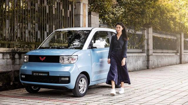 Giải mã chiếc xe điện tí hon đang bán chạy như tôm tươi tại Trung Quốc - 1