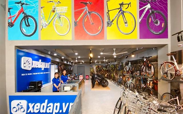 Gia nhập ngành bán lẻ, Xedap.vn đầu tư vào hệ thống vận hành và thương hiệu - 1