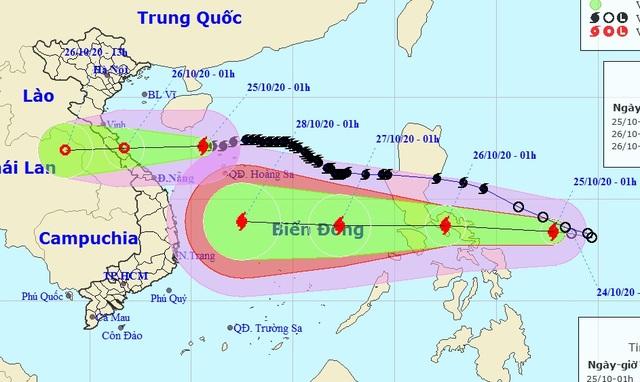 Xuất hiện bão Molave gần Biển Đông - 1