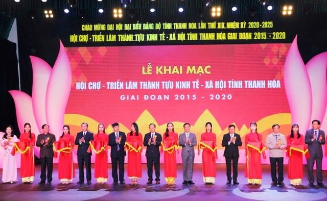 Khai mạc Hội chợ - Triển lãm thành tựu kinh tế - xã hội tỉnh Thanh Hóa giai đoạn 2015-2020 - 5
