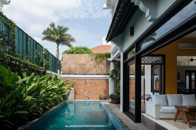 Biệt thự rộng 300m2 mang nét hoài cổ giữa Sài Gòn sầm uất của vợ chồng trẻ - 11