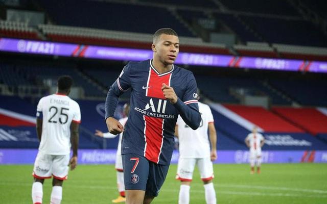 Mbappe thăng hoa, PSG thắng cách biệt 4 sao tại Ligue 1 - 2