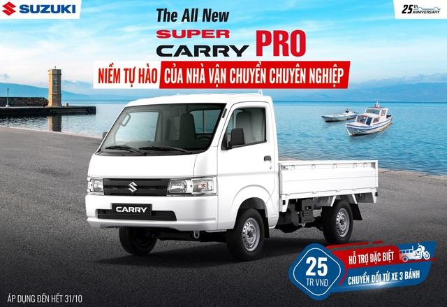 5 lý do khiến Suzuki Super Carry Pro là sự lựa chọn của nhiều khách hàng - 4