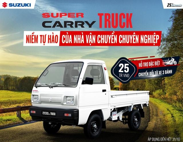 5 lý do khiến Suzuki Super Carry Pro là sự lựa chọn của nhiều khách hàng - 5