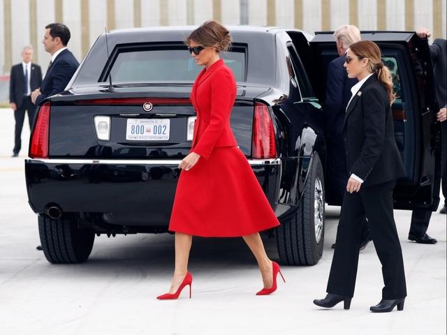 Bức ảnh làm rộ đồn đoán bà Melania Trump dùng người đóng thế - 4