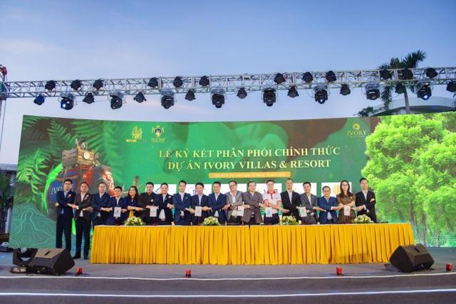 Hơn 500 chiến binh lan tỏa sức nóng tại lễ kick-off dự án Ivory Villas  Resort - 2