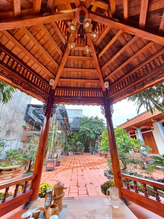 Ông bố Hà Nội làm nhà vườn 1.500m2 tràn ngập cây xanh, đẹp bình yên  - 11