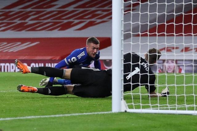 Arsenal 0-1 Leicester City: Vardy tỏa sáng - ảnh 1.