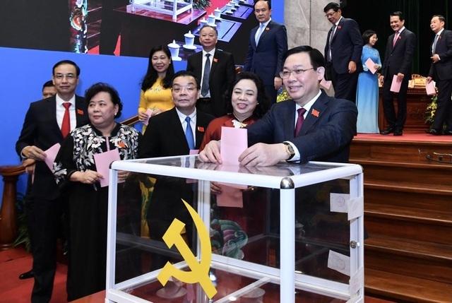 Phân công nhiệm vụ 16 Uỷ viên Ban Thường vụ Thành uỷ Hà Nội  - 1