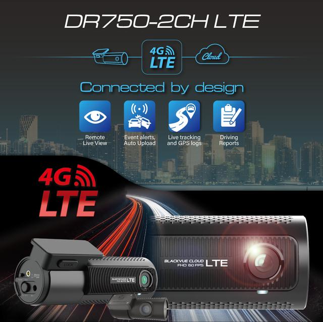 Camera hành trình Blackvue DR750-2CH LTE bom tấn trình làng, cấu hình cực khủng - 4