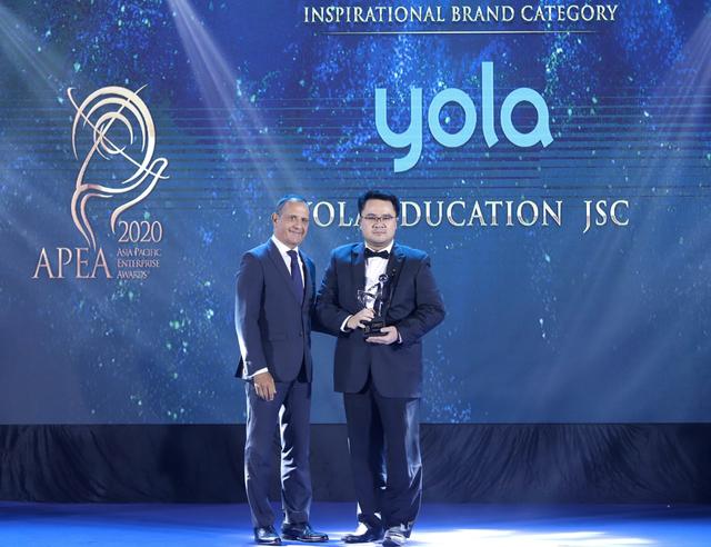 YOLA được vinh danh Thương hiệu truyền cảm hứng và những câu chuyện thay đổi cuộc sống thông qua giáo dục - 1