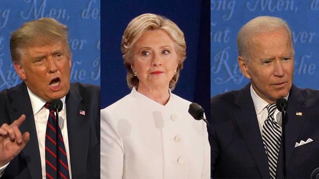 """Bầu cử Mỹ 2020: Ông Trump nói ông Biden """"kém thông minh"""" hơn bà Clinton - 1"""