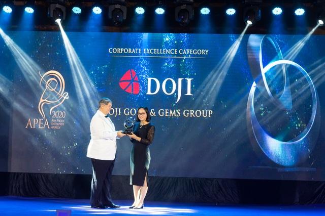 Hành trình để DOJI trở thành Doanh nghiệp Bán lẻ xuất sắc châu Á 2020 - 1
