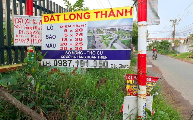 Giá đất gần dự án sân bay Long Thành bị đẩy cao - 1